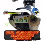 2014-2016 HUSQVARNA FE 501 SS FENDER ELIMINATOR INTEGRATED LIGHT BAR KIT