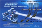HONDA 2002-2010 VFR800 2 BULB HIGH BEAM HEADLIGHT COVERSION KIT