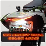 2016-2018 KTM 690 STANDARD FENDER ELIMINATOR INTEGRATED LIGHT BAR KIT