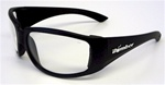 Stink Bombs Matte Black Frames W/ Clear Safety Lens