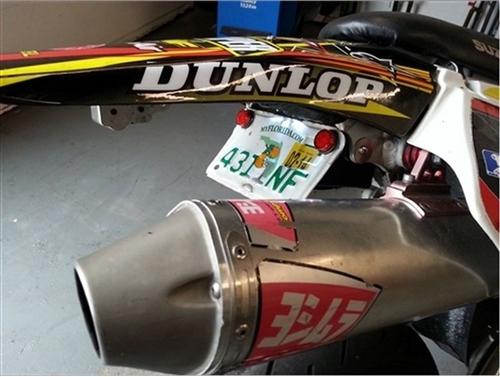2000-2016 SUZUKI DRZ400SM RACE LED FENDER ELIMINATOR KIT