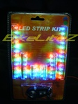 COMPLETE RED GREEN BLUE MULTICOLORED UNDERLIGHTING KIT WITH REMOTE CONTROL